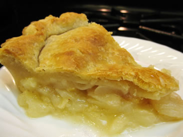 citrus pear pie recipe