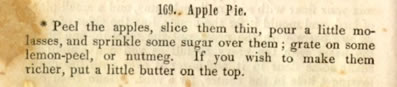 apple pie recipe vintage and old fashioned