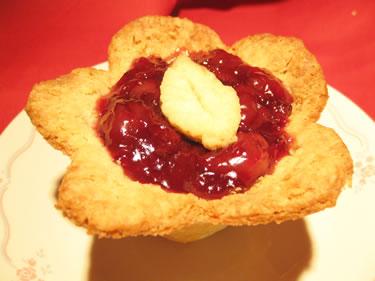 cherry pie recipe flower