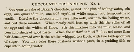 custard-chocolate-pie white-house