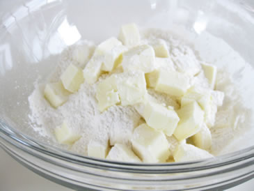 flaky pie crust flour butter
