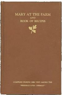 mary-book-1915 pumpkin pie recipe