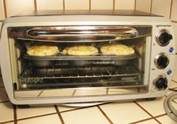 mini pie toaster oven