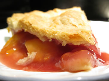 peach raspberry pie recipe