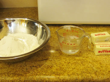 pie crust recipe ingredients