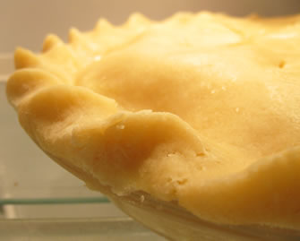 pie crust recipe made with lard and butter