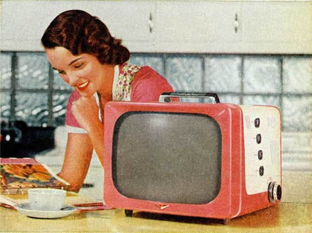 Old Time Television of vintage pie shows and commercials