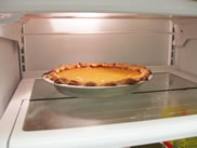 thaw pie in refrigerator