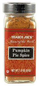 what is pumpkin pie spice