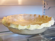 wheat free gluten free pie crust chilled for filling
