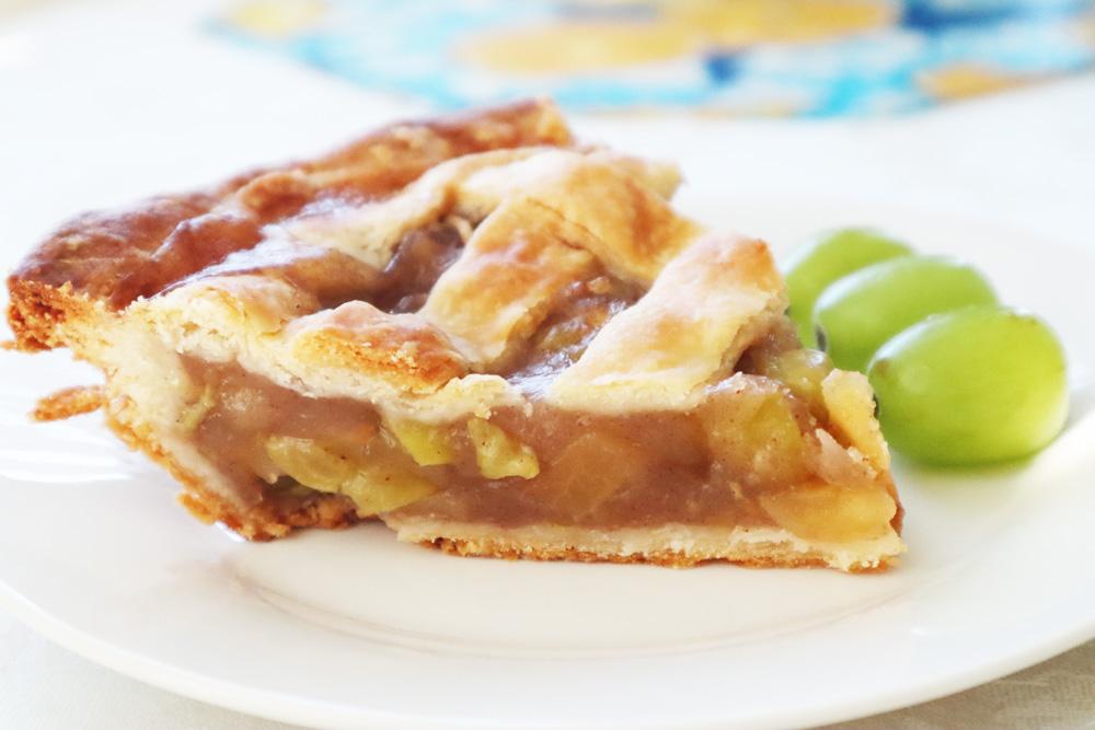 Green Grape Pie Recipe