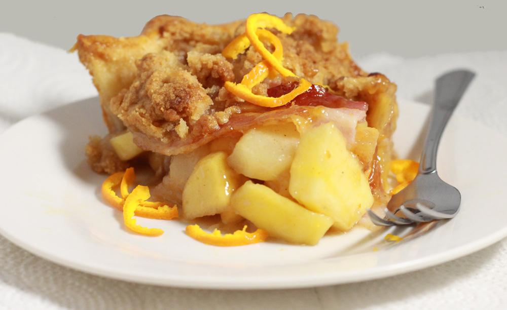bacon apple pie lattice top