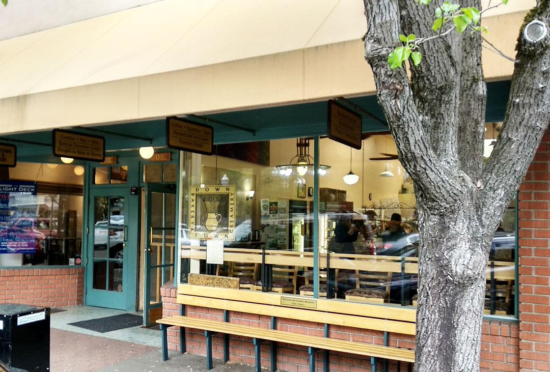 downtown bakery healdsburg california