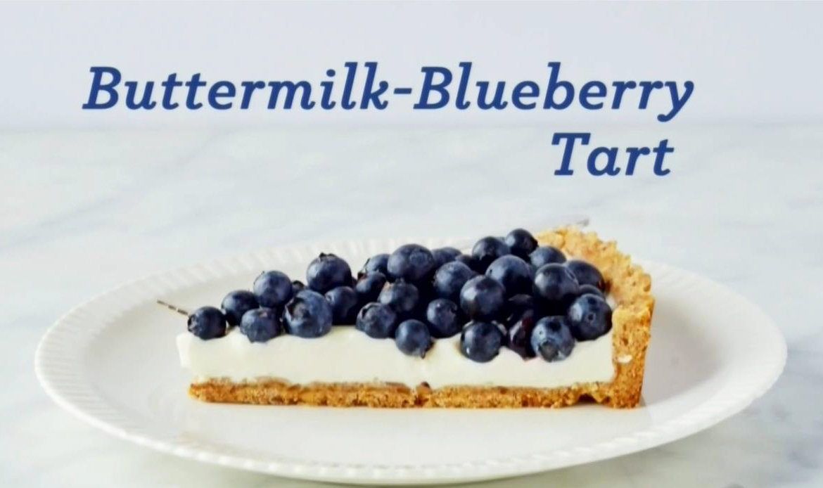 ... Steward: New England Buttermilk Blueberry Tart, with suggestions