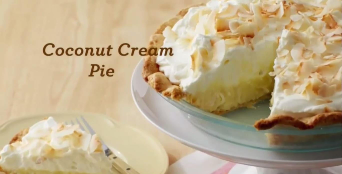martha coconut cream pie