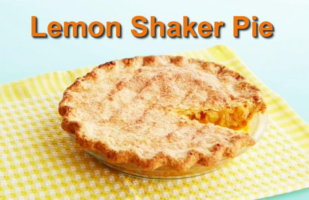 martha shaker lemon pie