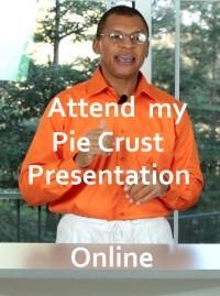 pie crust presentation