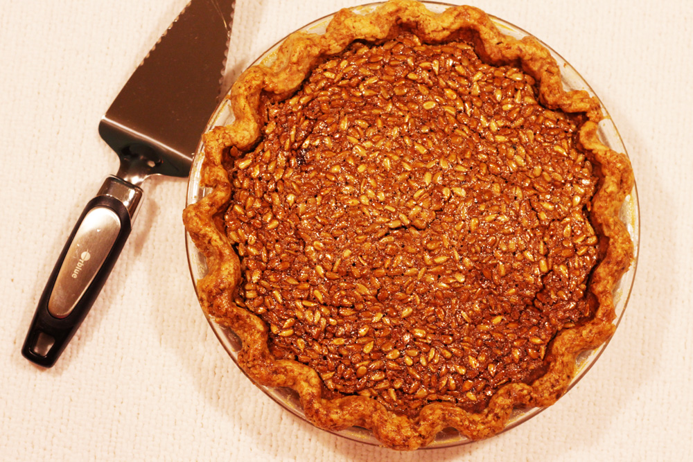 sunflower seed pie you want